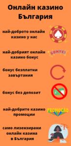 Онлайн казино България