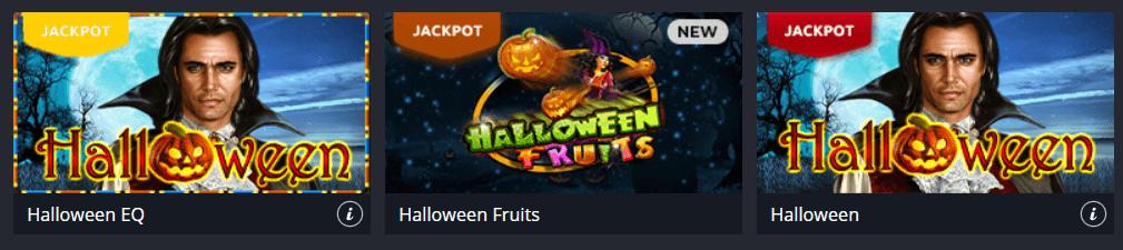 Хелоуин казино игри